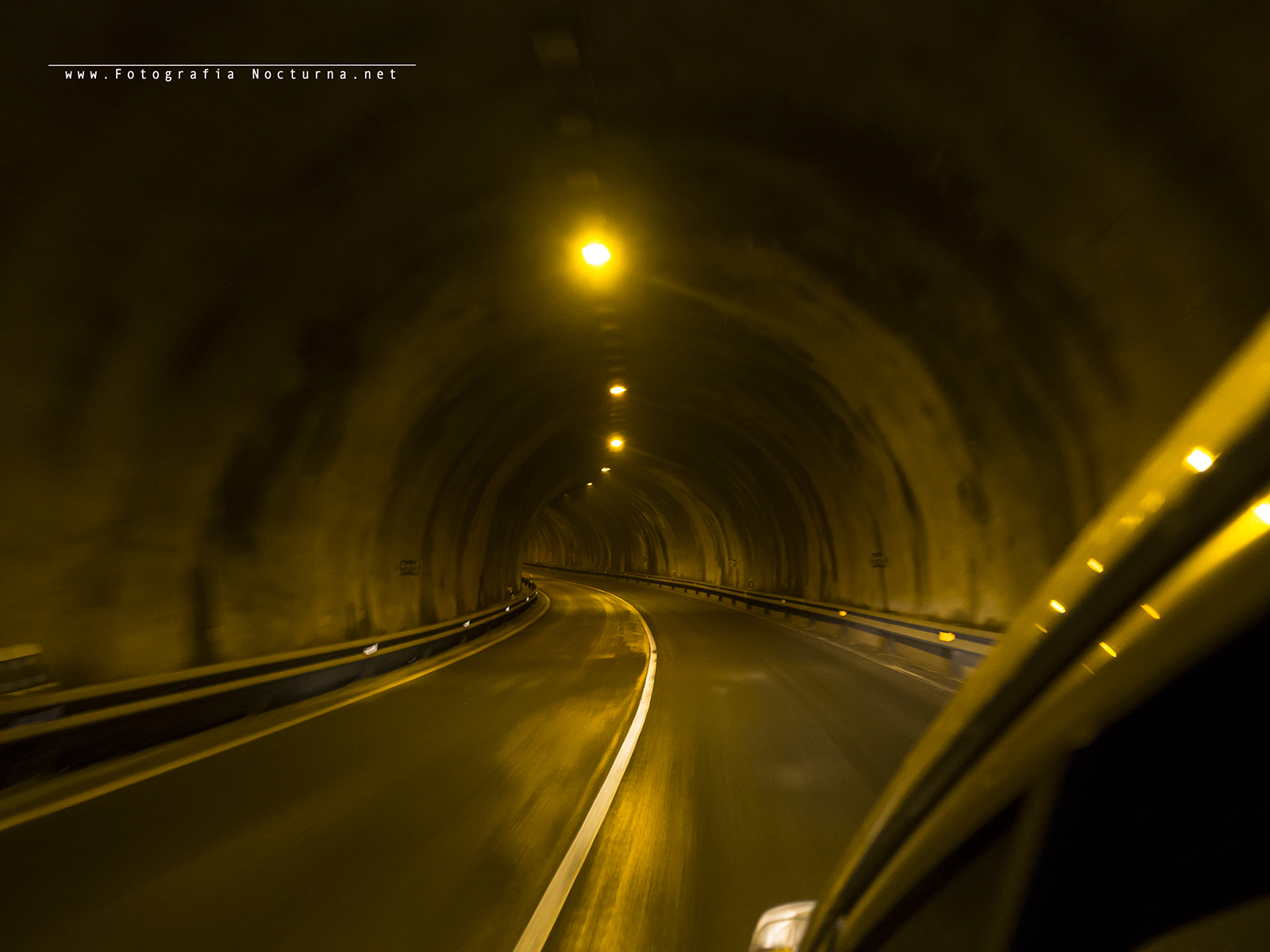 Túnel antigua carretera