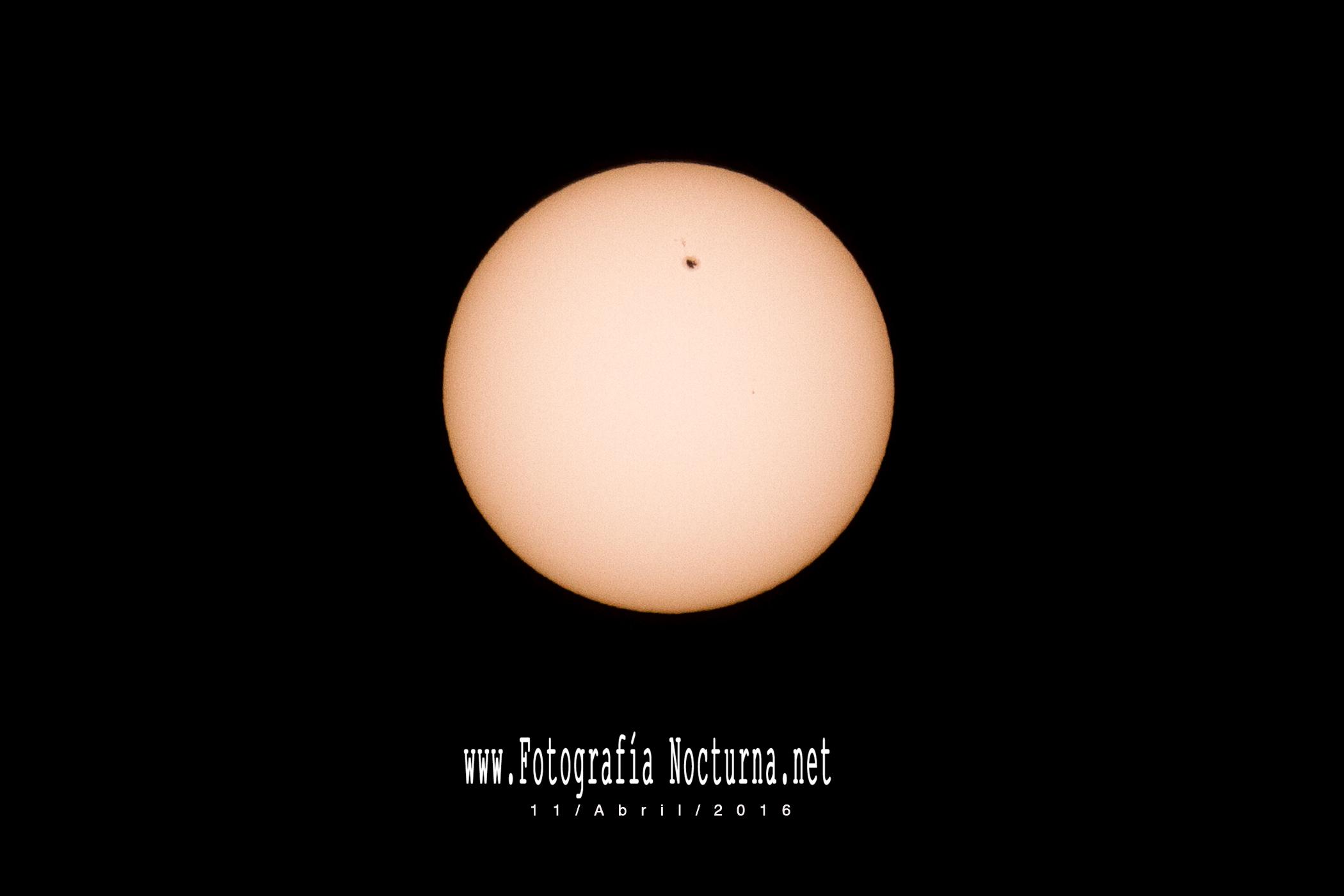 Mancha solar 2529