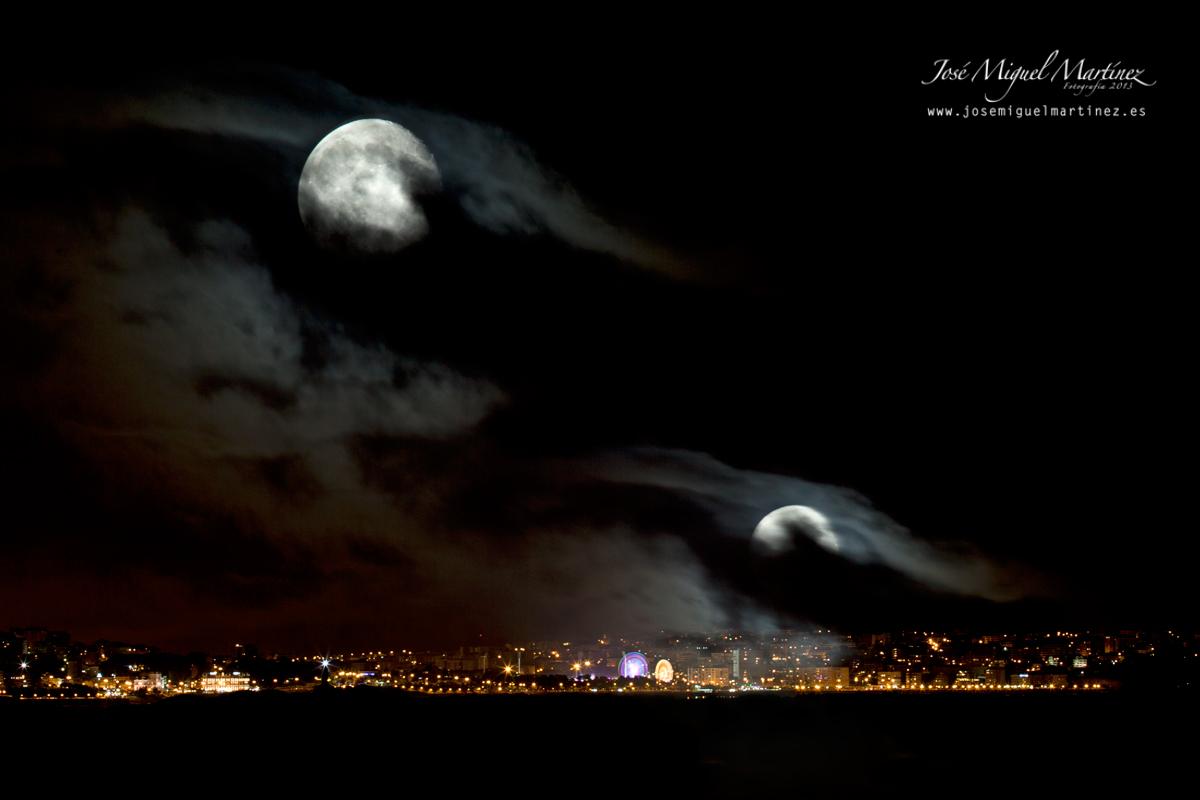 Santander doble luna