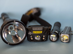 Nitecore flashlights