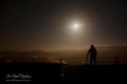 Luna desde Peña Cabarga