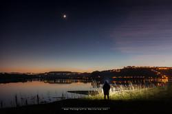 Moon and Venus Nitecore HC35