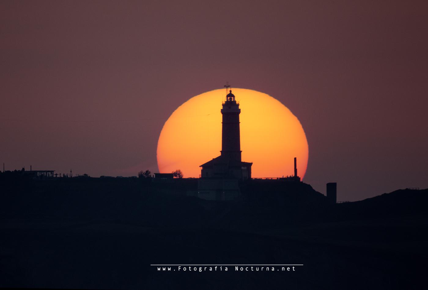 Sol por el faro de Santander (MTO1000a)