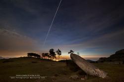 Crew Dragon y la ISS desde Cantabria