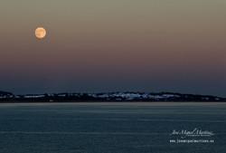 Luna llena en el Algarve