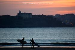 Somo el paraíso de surf