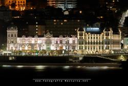 Casino y hotel en nocturna