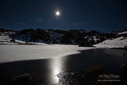 Lago de la Ercina Helado