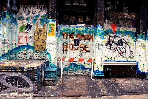 NYC Graffiti,2007 (Unframed)