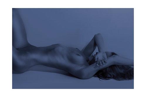 Blue Nude V3 (Framed)