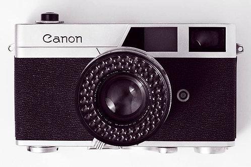 Canon Canonet  (Unframed)