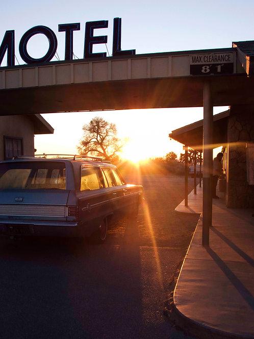 Palm Springs Motel,2009 (Unframed)