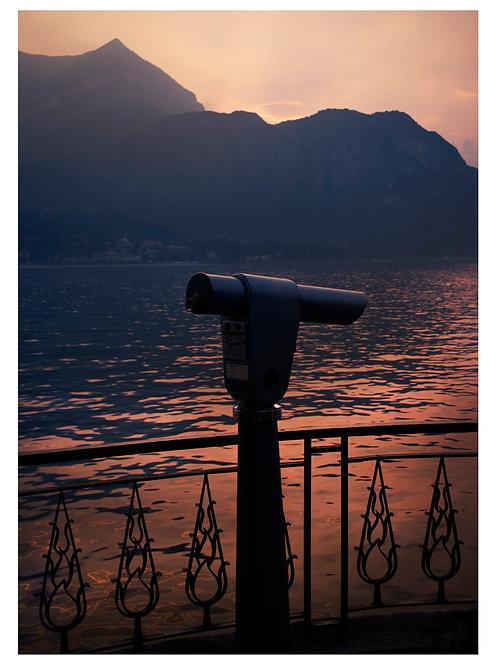 Lago di Como (Framed)