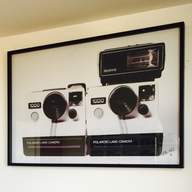 New Artwork - 30 x 45 Inch Polaroid Land Camera 1000
