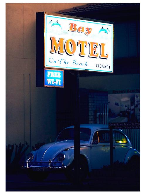 Bay Motel,2020 (Unframed)