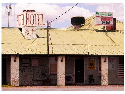 Outback Motel,2018 (Unframed)