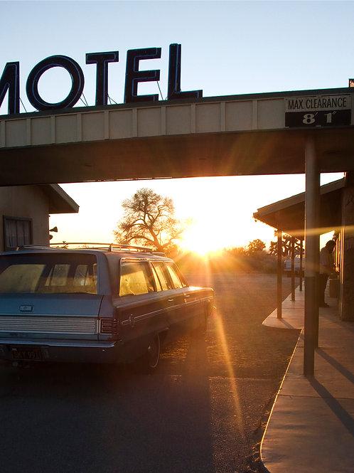 Palm Springs Motel (Framed)