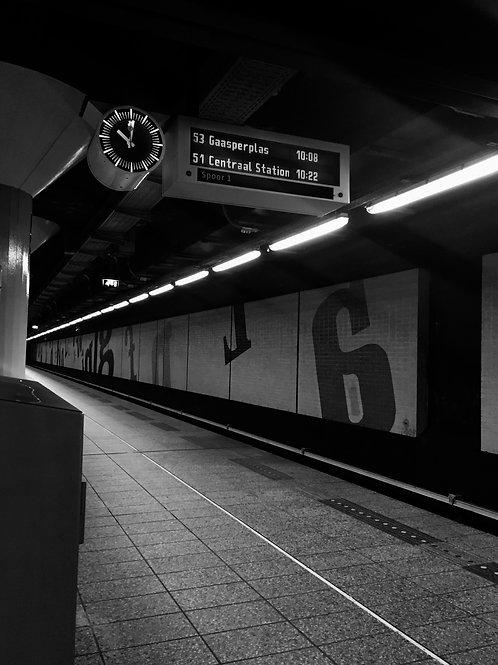 Dutch Subway,2015 (Unframed)