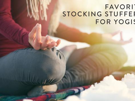 Favorite Stocking Stuffers For Yogis