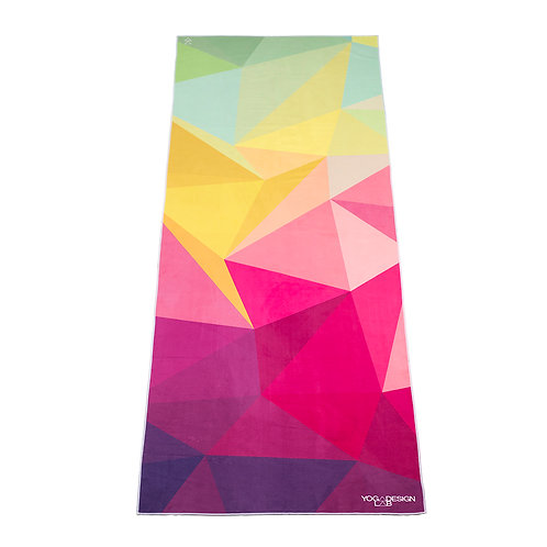 Yoga Design Lab Hot Yoga Towel - Geo