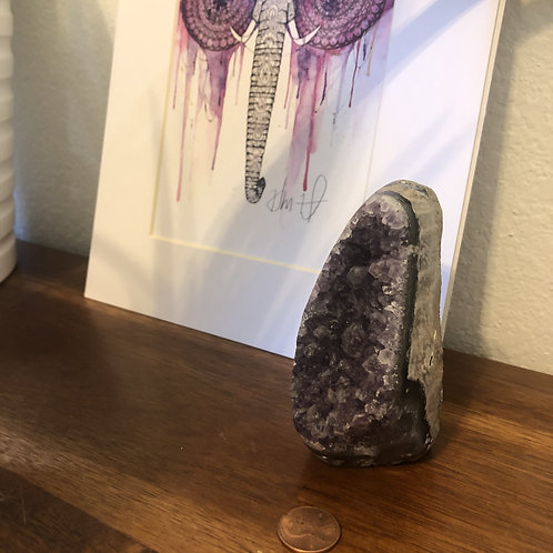 Amethyst Stand #AS16  (approx 370g)