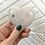 Thumbnail: Tourmalinated Quartz Heart (approx 116 grams)