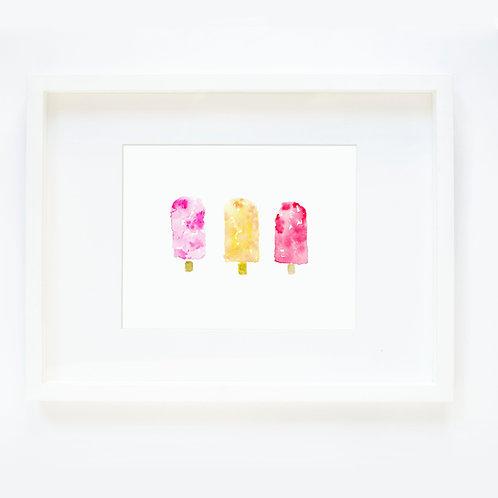 Three Popsicles