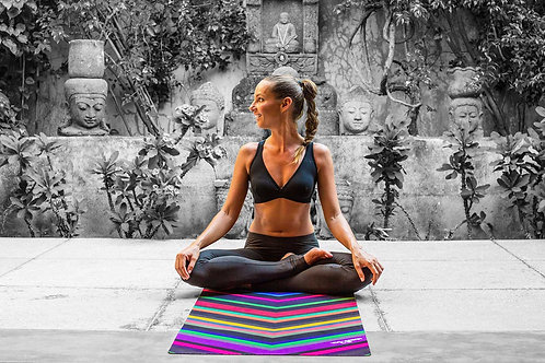 Yoga Design Lab Hot Yoga Towel - Chevron