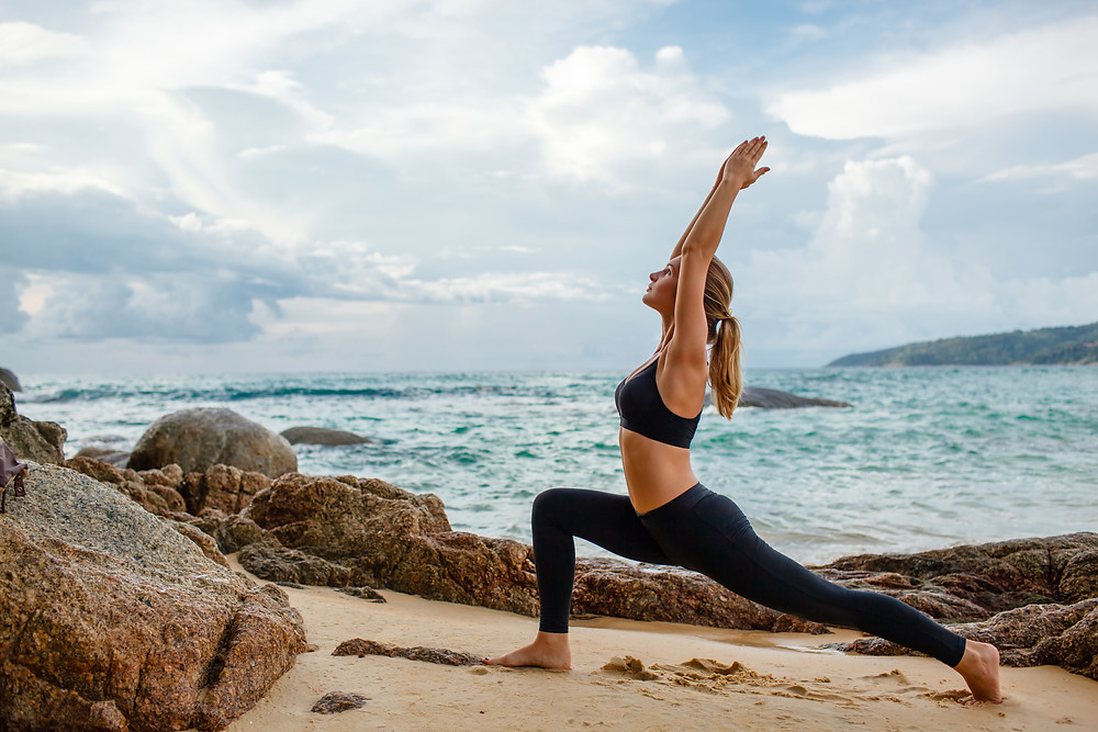 The Kai Life - Beach Yoga - #NamasteOnTheBeach