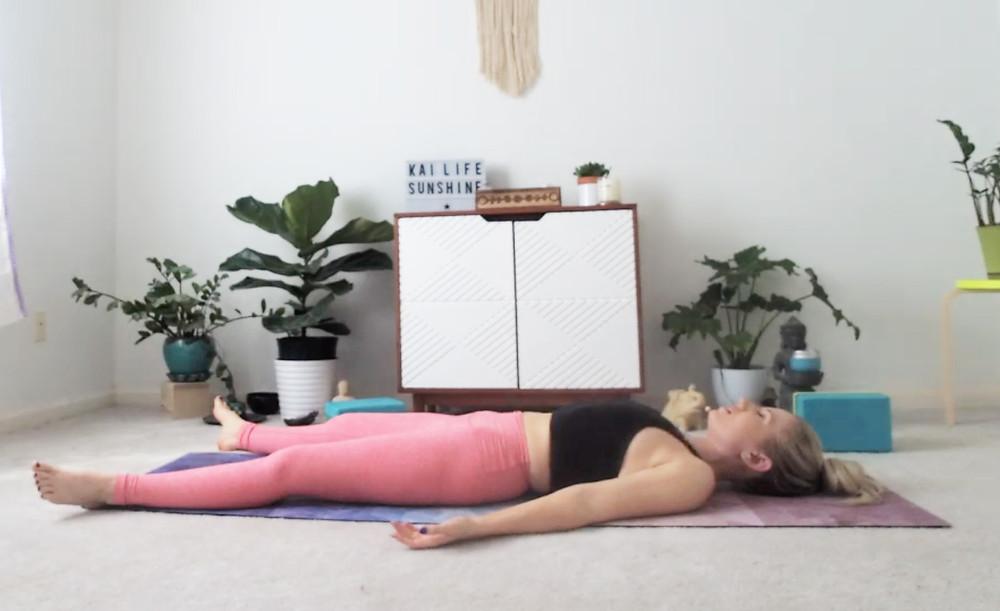 The Kai Life Pose Guide - How To Savasana