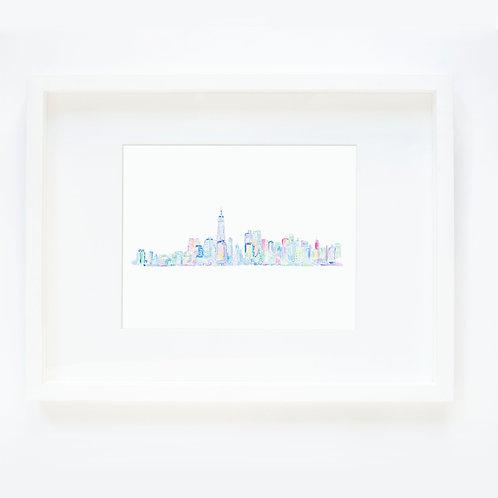 NYC Multicolor #1