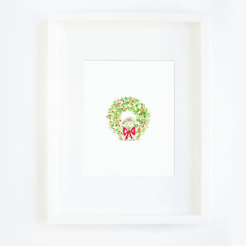 Hedgehog Wreath