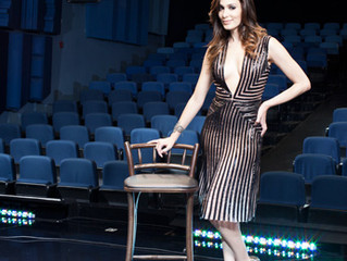 Sara Sarres na Revista Glamour