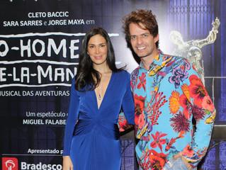 """Pré-estreia de musical """"O Homem de La Mancha"""" agita o Rio de Janeiro"""