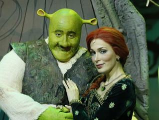 Shrek pela primeira vez em Curitiba
