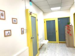 等待區門廊