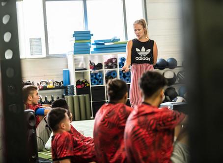 Was brauchst Du um mental stark zu sein? Mental Workshop beim Adidas Fußball Summercamp in München