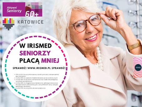 W Irismed, Seniorzy płacą mniej!