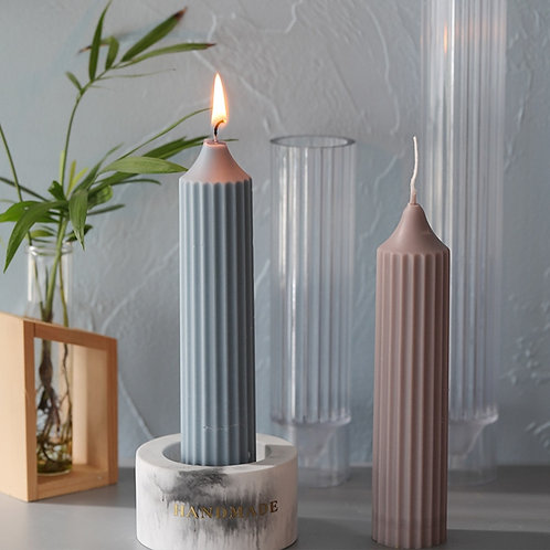 Candle Molds Plastic Pillar   Candle Making Molds DIY Candle Making Supplies