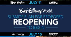 Reabertura do complexo Disney