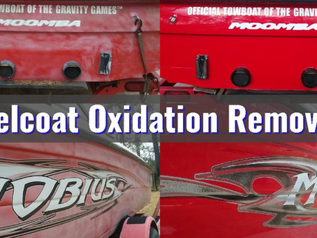 5 Steps to Removing and Restoring Oxidized Gelcoat