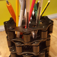 Pencil and pen container