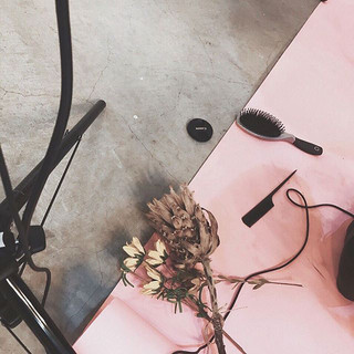 ._#shooting #dryflower #hair #makeup