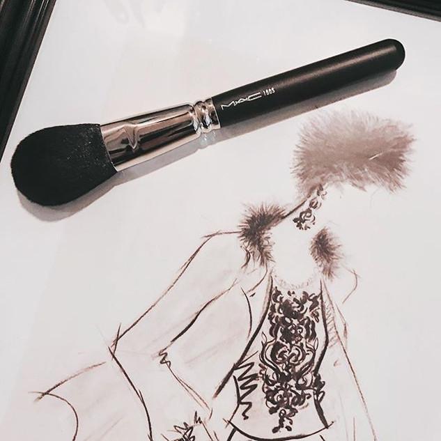.______________M・A・C makeup brush_ニューヨーク