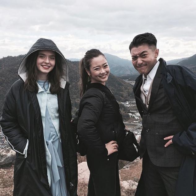 ._._._昨年末に竹田城で撮影された香港歌手 __endychowjaugwo