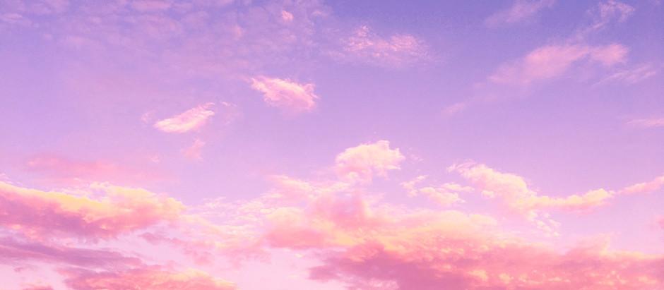 Le ciel est rose comme l'amour