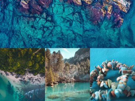La couleur de la semaine : le turquoise