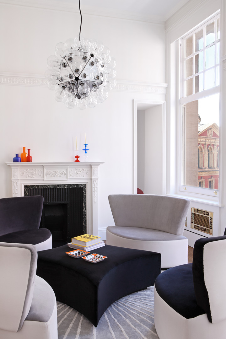 Luxury apartment in Albert Court London by Teresa Sapey