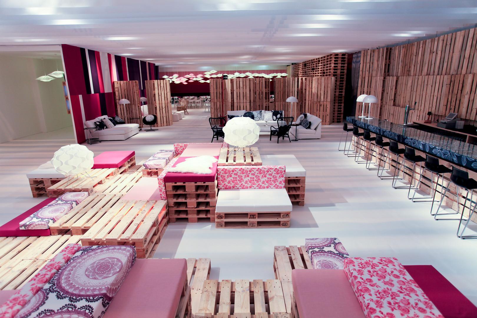 ARCO art fair vip lounge by Teresa Sapey and IKEA