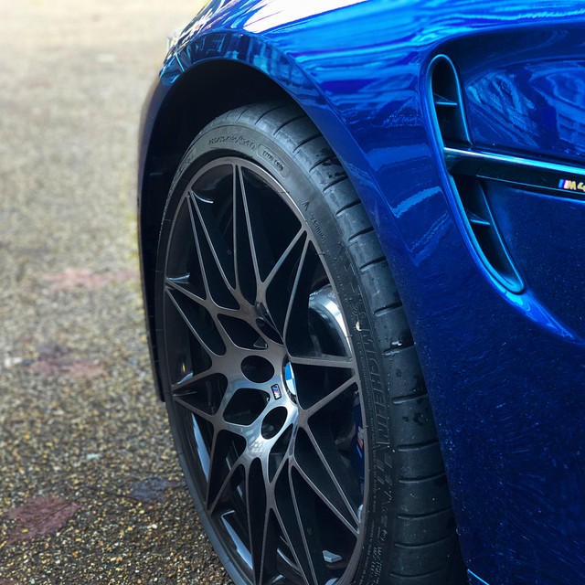 M4 Competiton pack front alloy